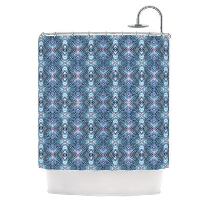 Native by Danii Pollehn Geometric Shower Curtain