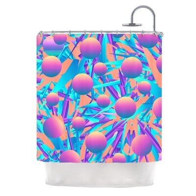 Blind Face by Danny Ivan Shower Curtain