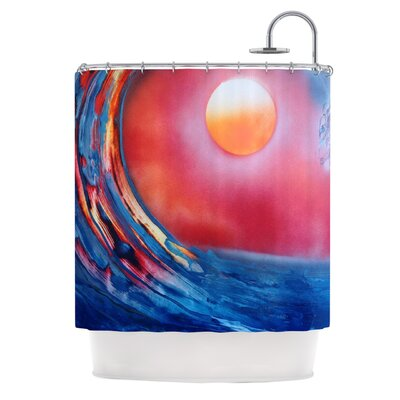 Ideal Barrel by Infinite Spray Art Shower Curtain