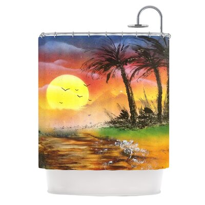 Maui Sunrise by Infinite Spray Art Beach Shower Curtain