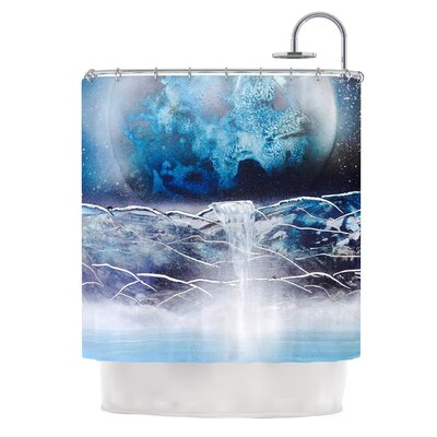 Surreal Falls by Infinite Spray Art Planet Shower Curtain