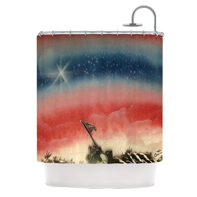 Veterans Day by Infinite Spray Art Shower Curtain