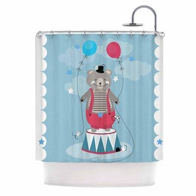 Circus Bear by Michelle Drew Shower Curtain