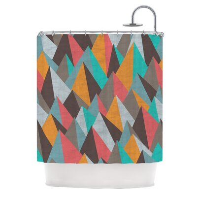 Mountain Peaks I by Michelle Drew Shower Curtain