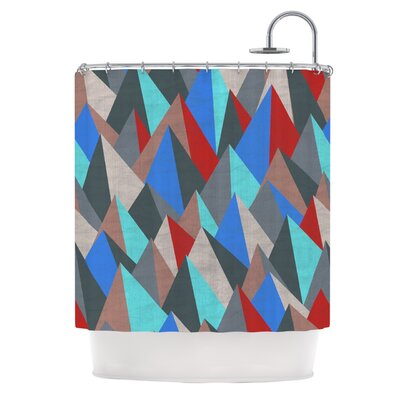 Mountain Peaks II by Michelle Drew Shower Curtain