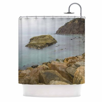 Rock Above Water by Nick Nareshni Shower Curtain
