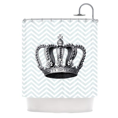 Crown by Suzanne Carter Shower Curtain