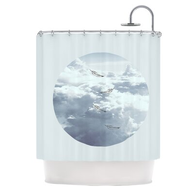 Feathers by Suzanne Carter Shower Curtain