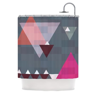Geo II by Suzanne Carter Geometric Shower Curtain