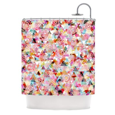 Geo by Suzanne Carter Shower Curtain