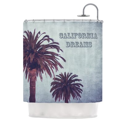 California Dreams by Ann Barnes Shower Curtain