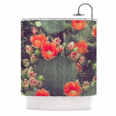 Flamenco by Ann Barnes Shower Curtain