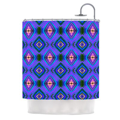 Dark Diamond by Anne LaBrie Shower Curtain