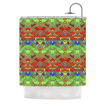 Mystic Flow by Anne LaBrie Shower Curtain