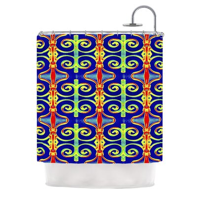 Swirl Away by Anne LaBrie Shower Curtain