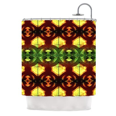 Tribal Marsala by Anne LaBrie Shower Curtain