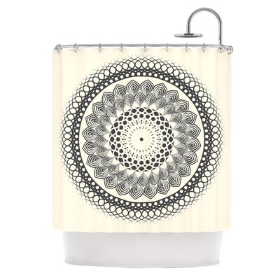 Boho Mandala by Famenxt Geometric Shower Curtain