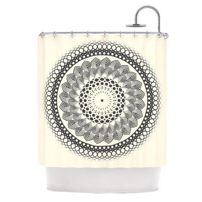 Boho Mandala by Famenxt Geometric Shower Curtain