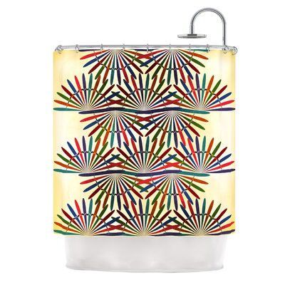 Colorful Abstract by Famenxt Shower Curtain