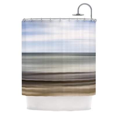 Abstract Beach by Iris Lehnhardt Shower Curtain