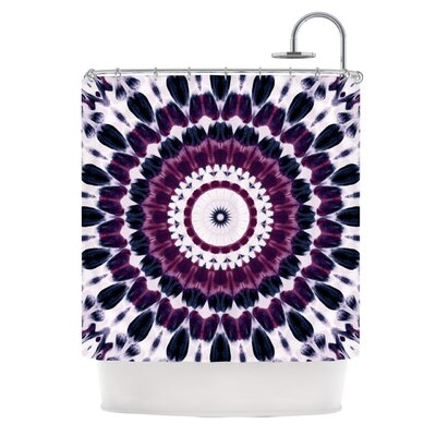 Batik by Iris Lehnhardt Geometric Shower Curtain