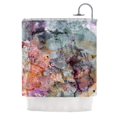 Floating Colors by Iris Lehnhardt Shower Curtain