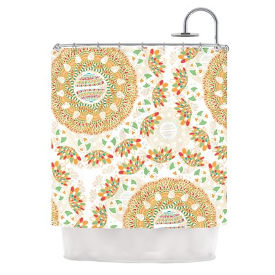 Bohemian Bright by Miranda Mol Geometric Shower Curtain