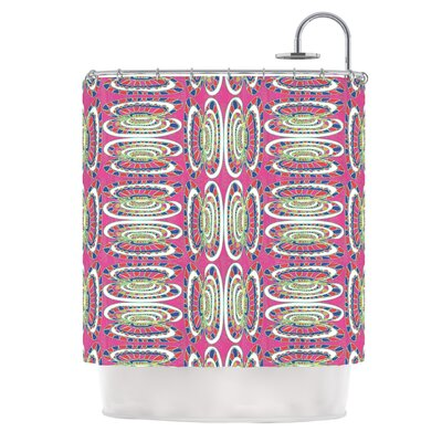 Bohemian Wild by Miranda Mol Abstract Shower Curtain
