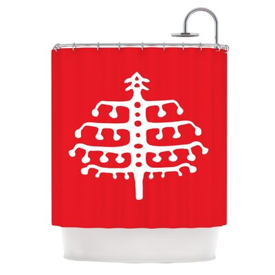 Deco Tree by Miranda Mol Holiday Shower Curtain