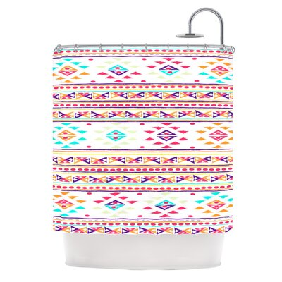 Aylen by Nika Martinez Tribal Shower Curtain