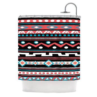 Tipi by Nika Martinez Tribal Shower Curtain