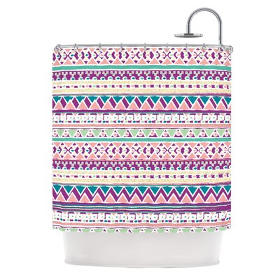 Boho Ibiza by Nika Martinez Pastel Shower Curtain
