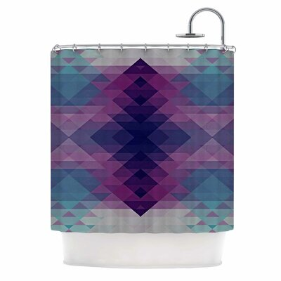 Hipsterland II by Nika Martinez Shower Curtain