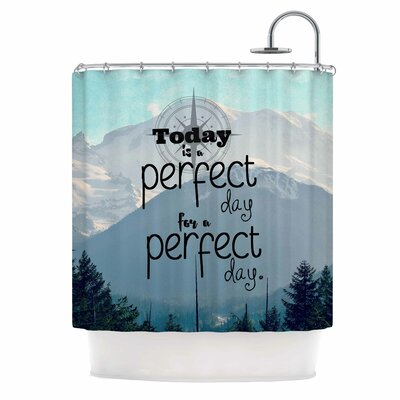 A Perfect Day by Robin Dickinson Shower Curtain