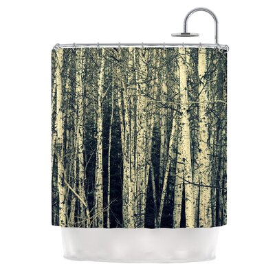 Birch by Robin Dickinson Shower Curtain