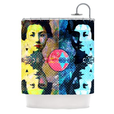 Kimono Girl by Suzanne Carter Shower Curtain