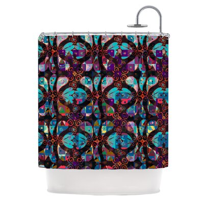 Pattern by Suzanne Carter Abstract Shower Curtain