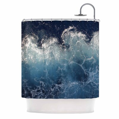 Sea Spray by Suzanne Carter Ocean Shower Curtain