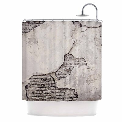 Crumbling Wall by Sylvia Cook Shower Curtain