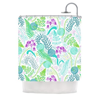 Fern Forest by Anneline Sophia Shower Curtain