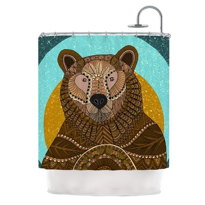Bear in Grass by Art Love Passion Shower Curtain