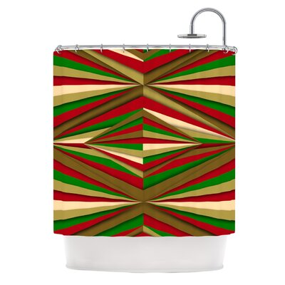 Christmas by Danny Ivan Shower Curtain