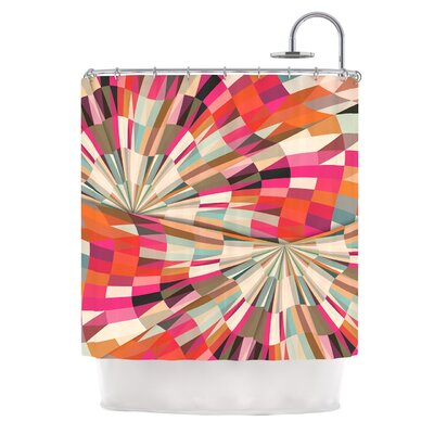 Convoke by Danny Ivan Geometric Shower Curtain
