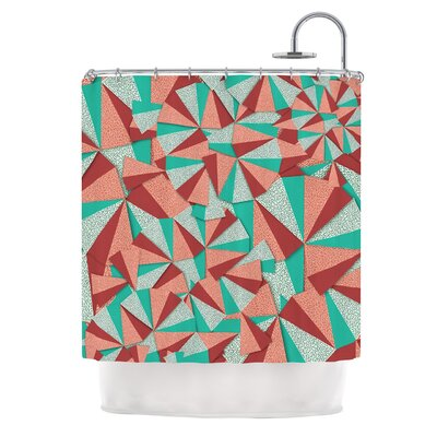 Marsala by Danny Ivan Shower Curtain