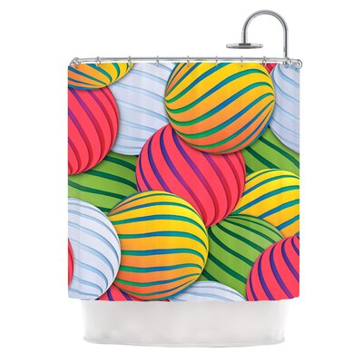Melons by Danny Ivan Shower Curtain