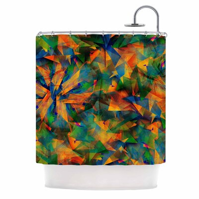 No Way Out by Danny Ivan Abstract Shower Curtain