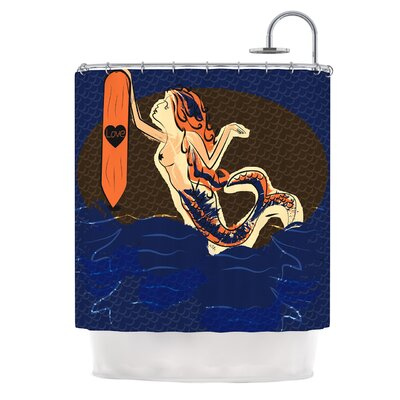 Mermaid by Famenxt Shower Curtain