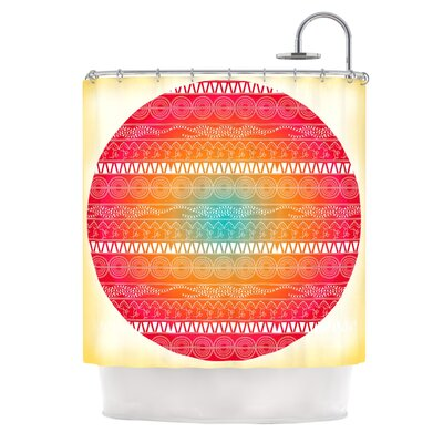 Romantic by Famenxt Abstract Shower Curtain