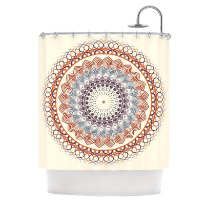 Vintage Mandala by Famenxt Shower Curtain
