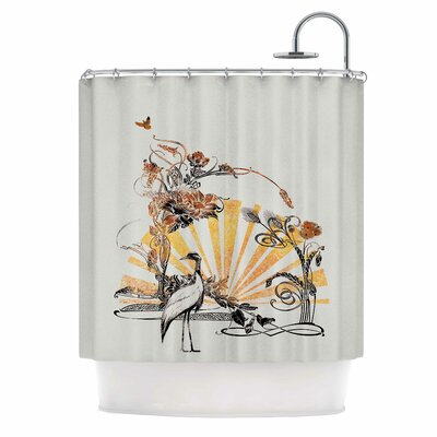 Art Nouveau Tune by Federic Levy-Hadida Shower Curtain